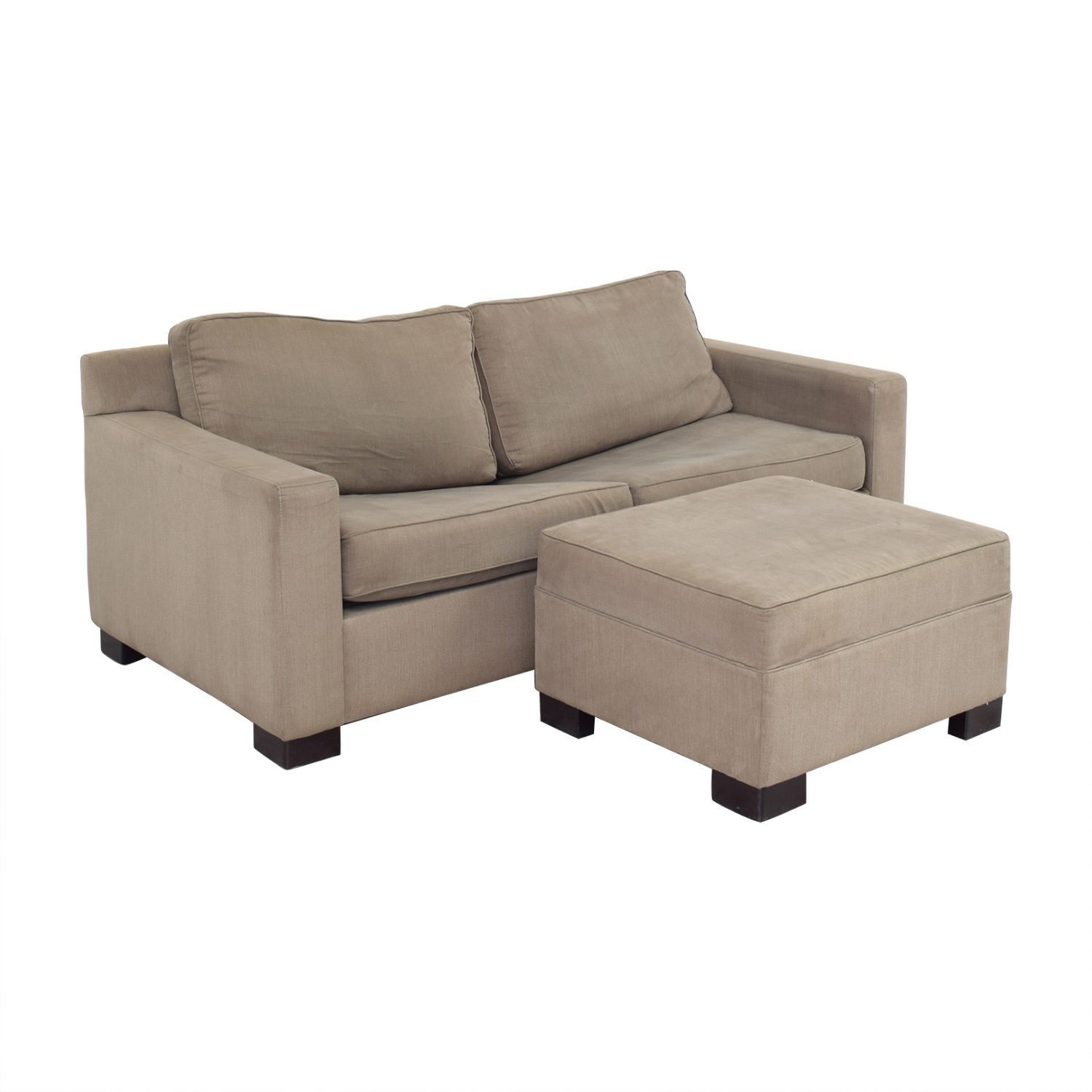 Urban Barn Urban Barn Apartment Sleeper Sofa & Ottoman on sale