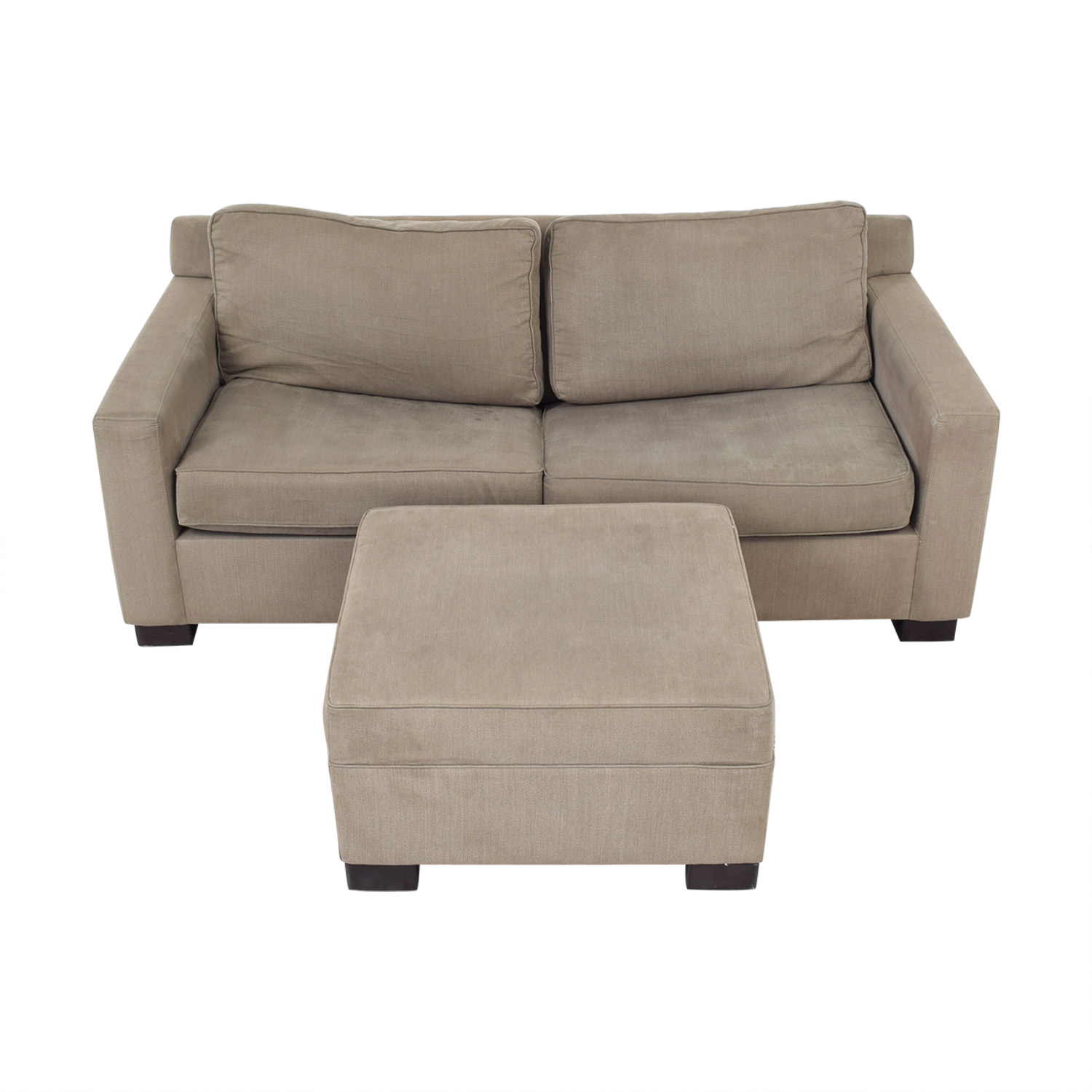 Urban Barn Urban Barn Apartment Sleeper Sofa & Ottoman Sofas