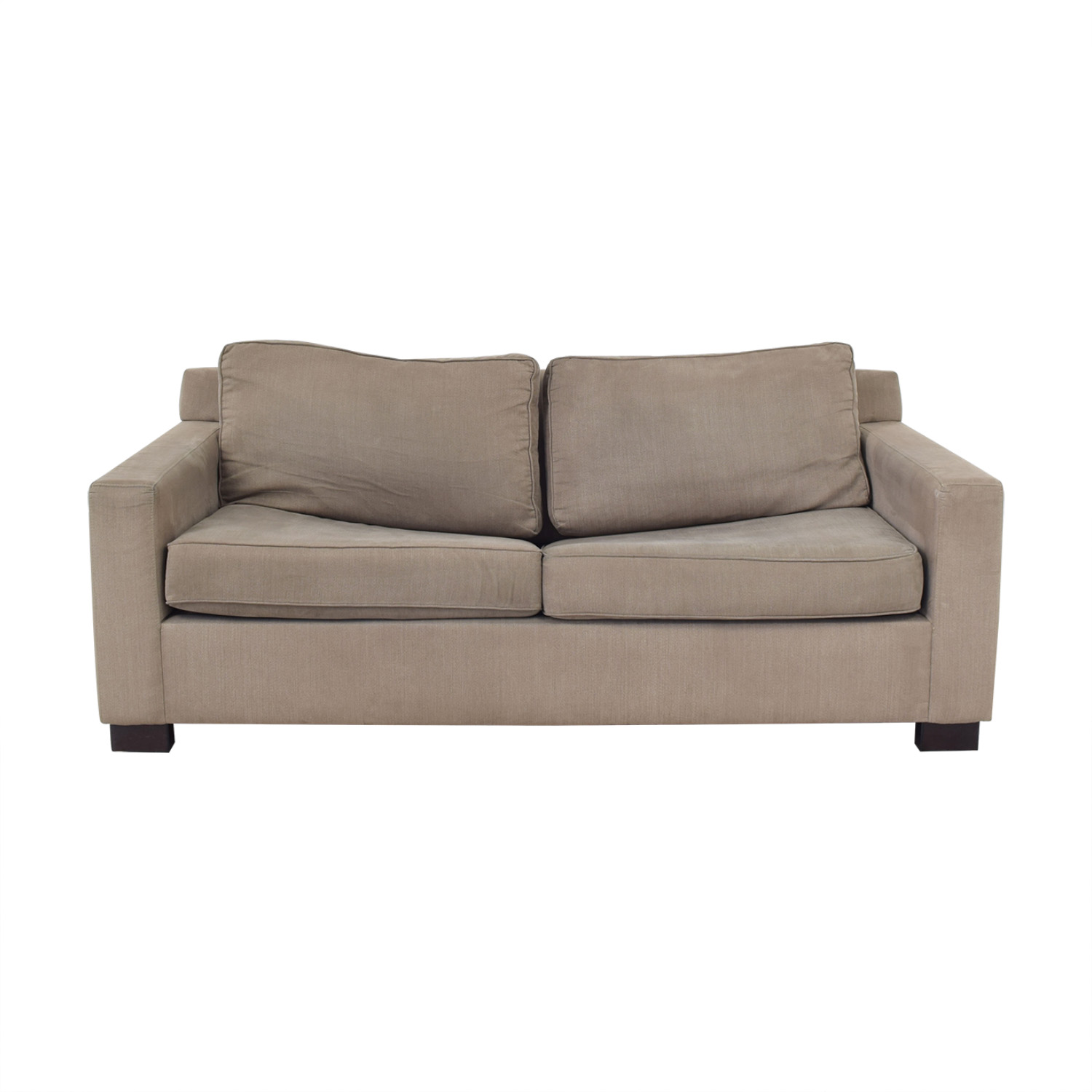 Urban Barn Urban Barn Apartment Sleeper Sofa & Ottoman discount