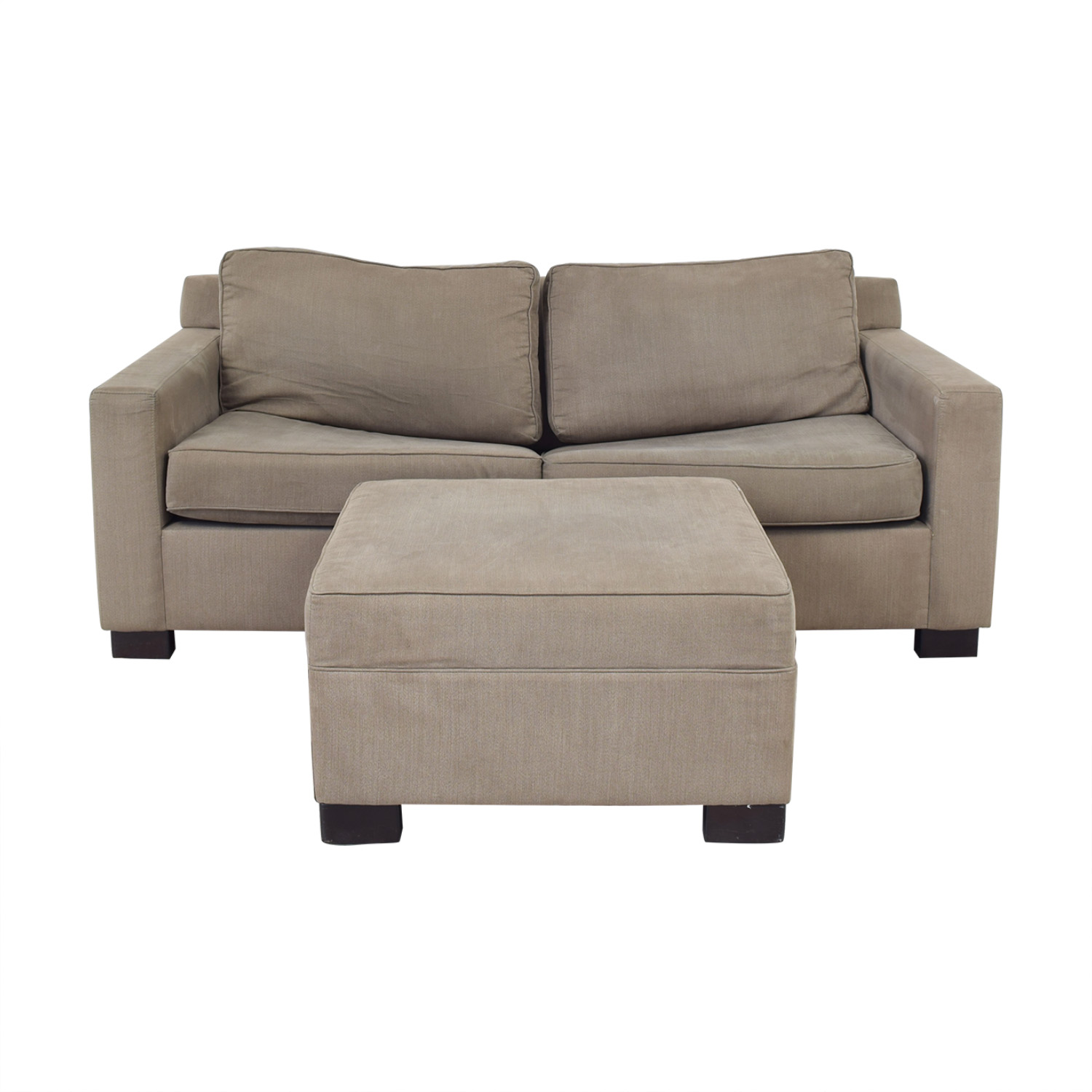 buy Urban Barn Apartment Sleeper Sofa & Ottoman Urban Barn