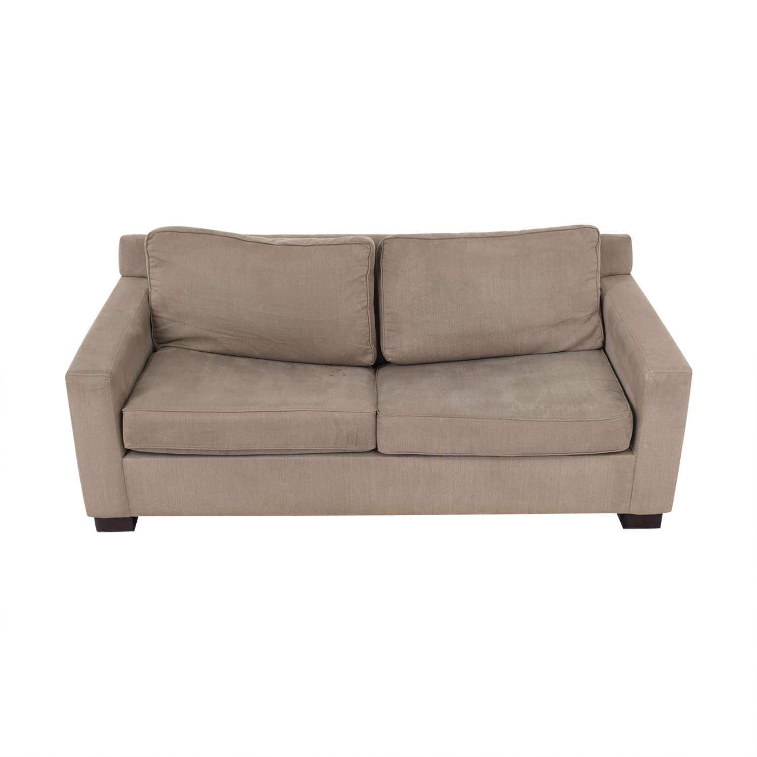 Urban Barn Urban Barn Apartment Sleeper Sofa & Ottoman ma