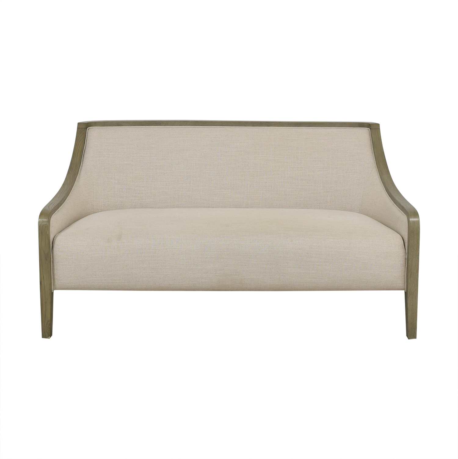 buy Crate & Barrel Elegant Upholstered Loveseat Crate & Barrel Loveseats