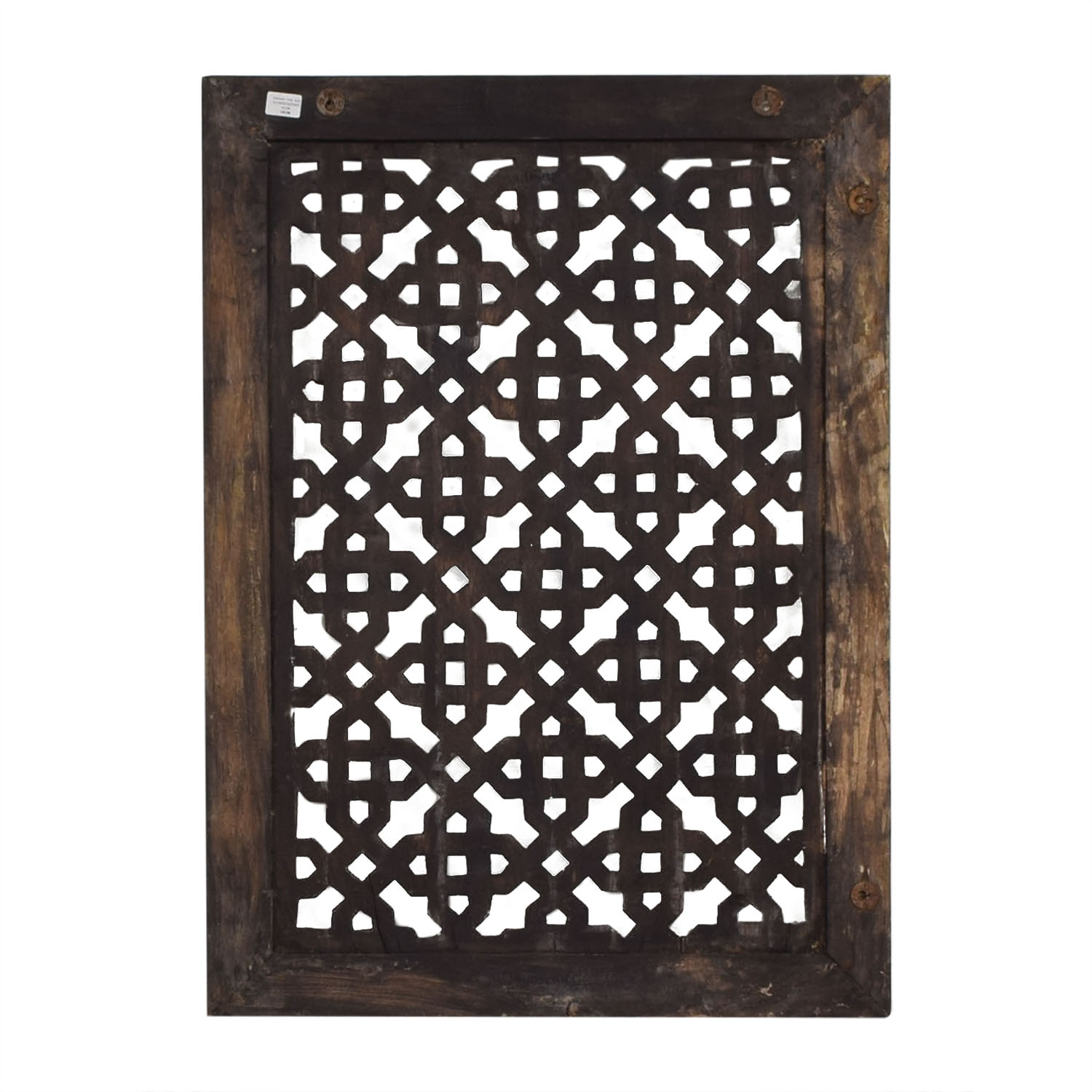 Distressed Carved Panel Wall Art Nadeau