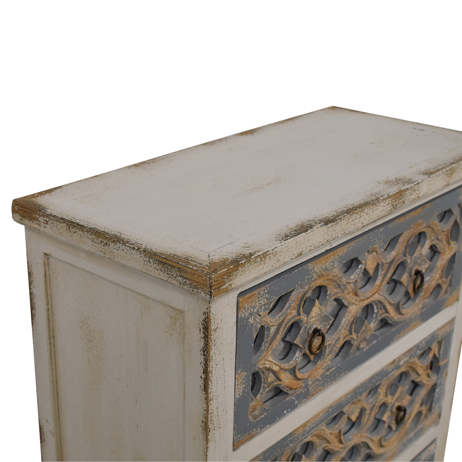 Pier 1 Pier 1 Cosette Antiqued Mirrored Chest second hand