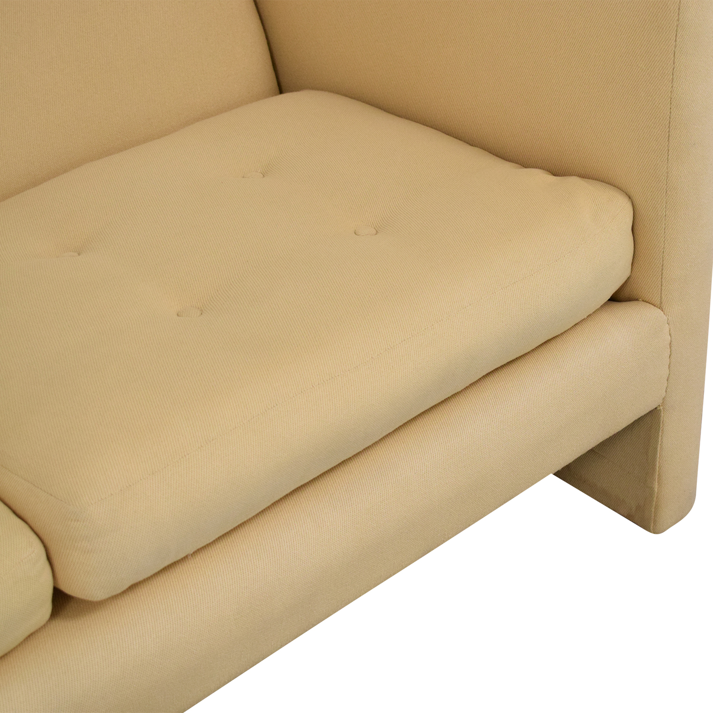 buy Harvey Probber Mid-Century Modern Tuxedo Sofa Harvey Probber