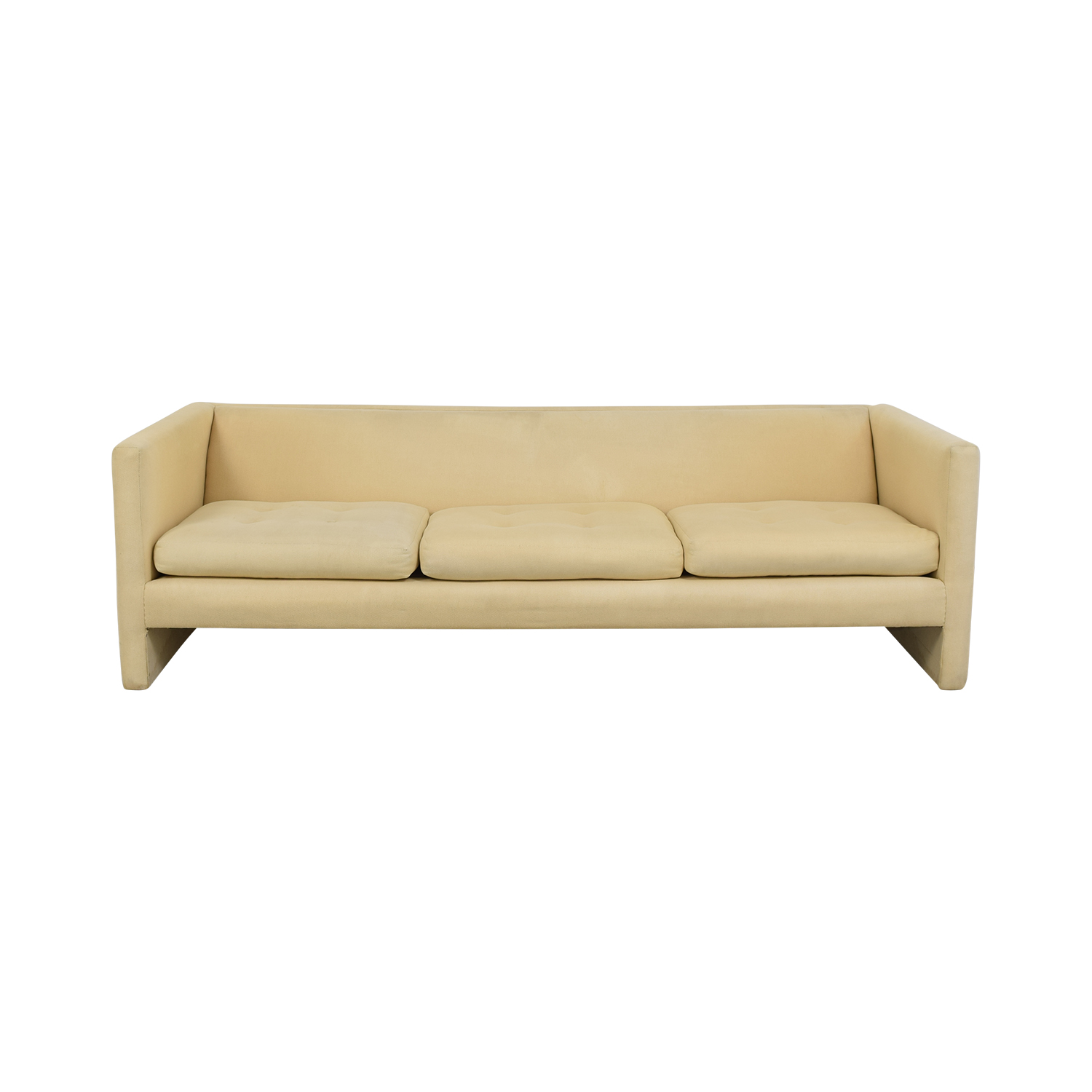 Harvey Probber Harvey Probber Mid-Century Modern Tuxedo Sofa for sale