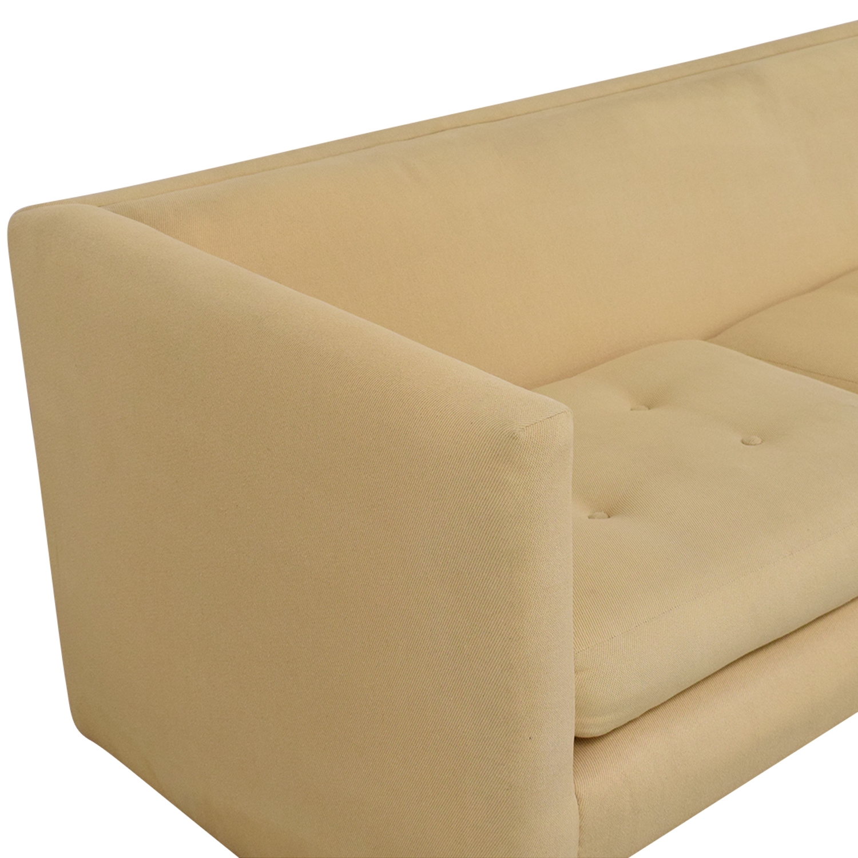 Harvey Probber Mid-Century Modern Tuxedo Sofa / Sofas