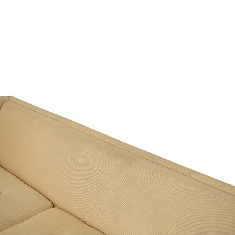 Harvey Probber Harvey Probber Mid-Century Modern Tuxedo Sofa nyc
