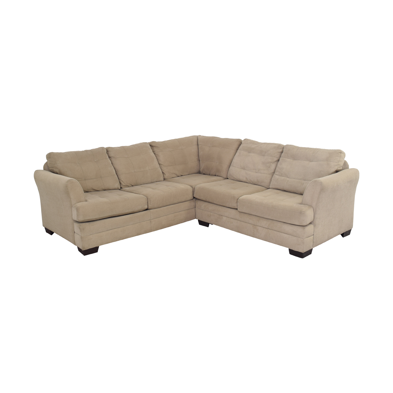 Raymour & Flanigan Hayden 2-Piece Sectional Sofa / Sofas