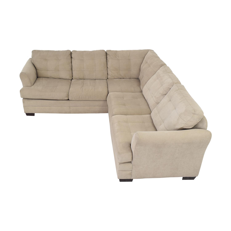 Raymour & Flanigan Raymour & Flanigan Hayden 2-Piece Sectional Sofa coupon