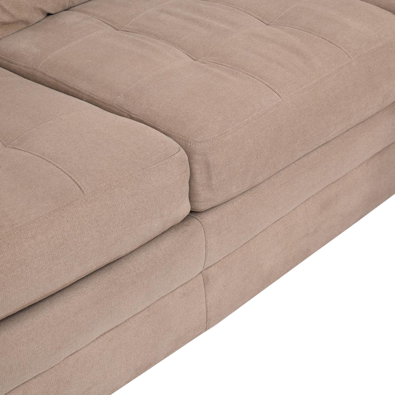 Raymour & Flanigan Raymour & Flanigan Hayden 2-Piece Sectional Sofa Sofas