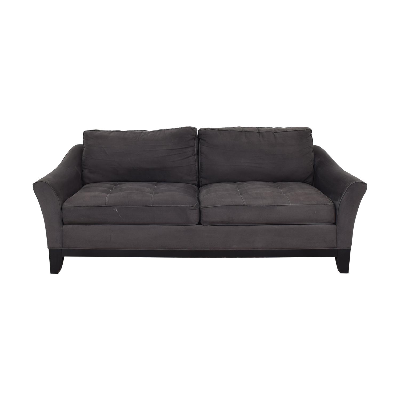 Raymour & Flanigan Two Cushion Sofa / Classic Sofas