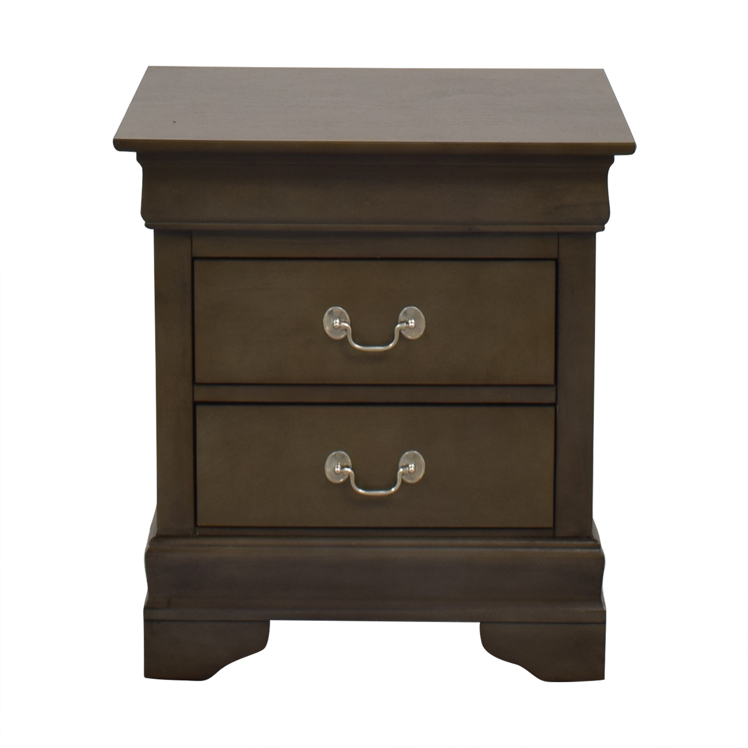 Raymour & Flanigan Raymour & Flanigan Two Drawer Nightstand nj