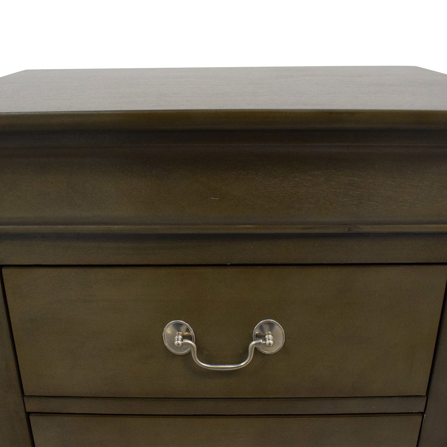 Raymour & Flanigan Raymour & Flanigan Two Drawer Nightstand dimensions