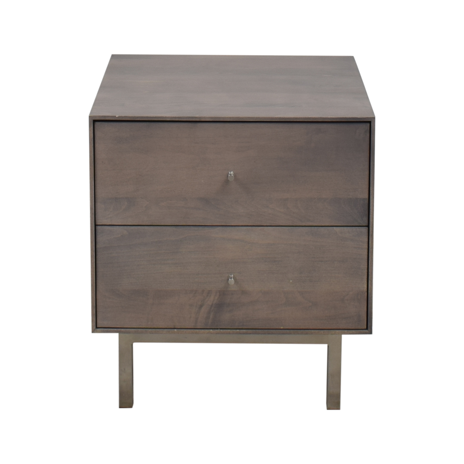 Room & Board Hudson Two Drawer Nightstand sale