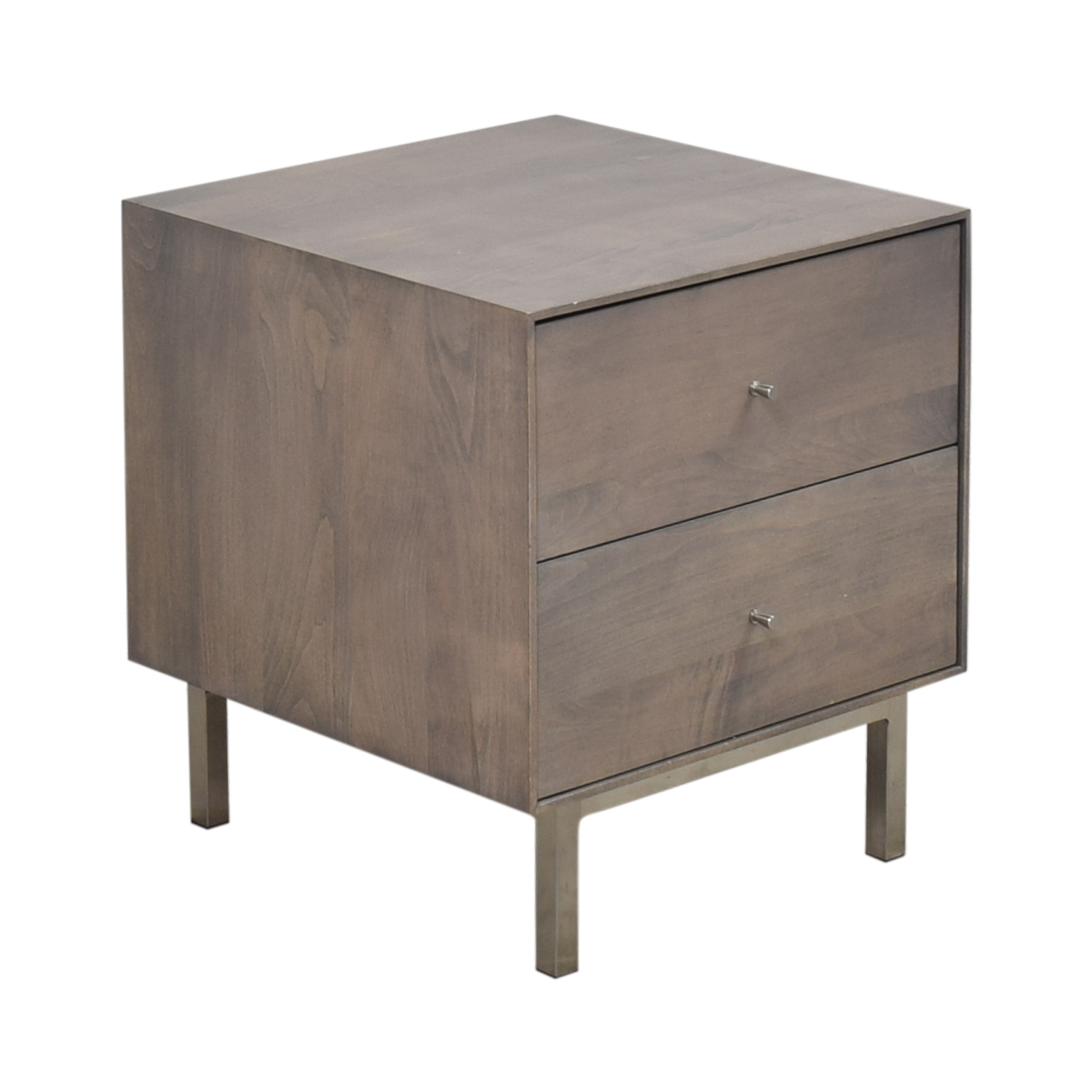 Room & Board Hudson Two Drawer Nightstand / End Tables