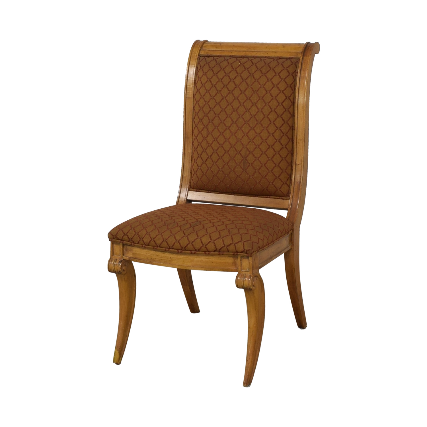 Century Furniture Century Furniture Upholstered Dining Chairs dimensions