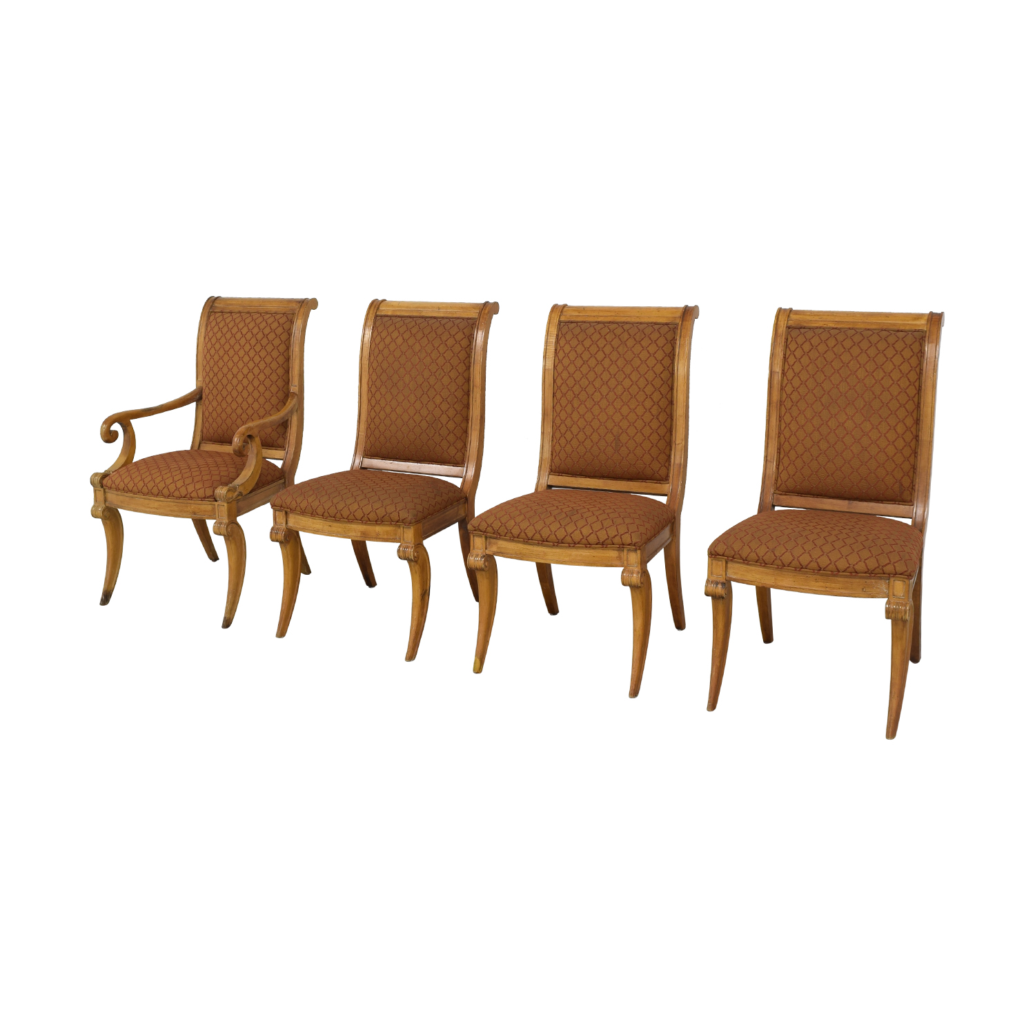 Century Furniture Century Furniture Upholstered Dining Chairs Dining Chairs