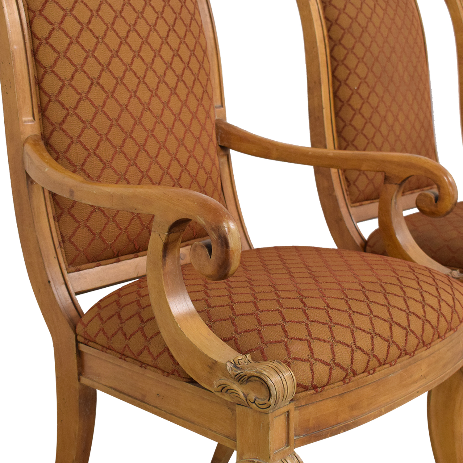 Century Furniture Century Furniture Upholstered Dining Chairs second hand