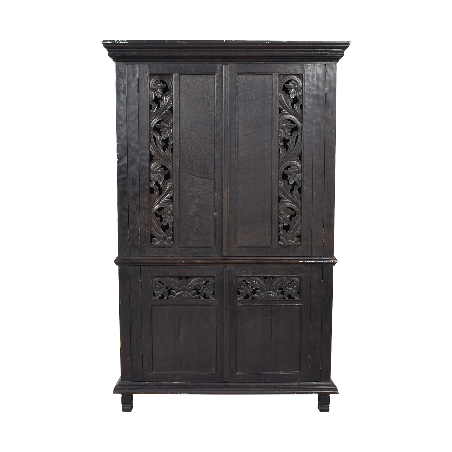 Carved Armoire Cabinet price